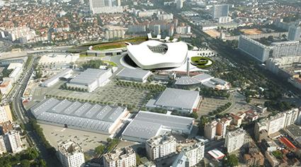 马赛沙诺会展中心Parc Chanot