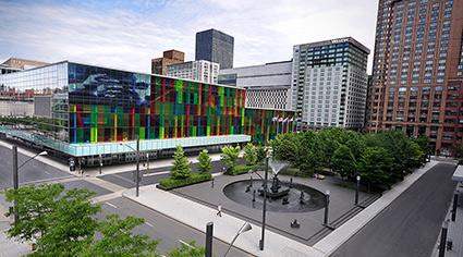 蒙特利爾會展中心Palais des Congrès de Montréal