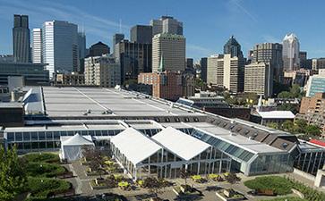 蒙特利尔会展中心Palais des Congrès de Montréal