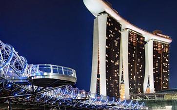 新加坡滨海湾金沙会展中心Marina Bay Sands