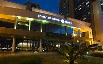 巴西巴西利亚会议活动中心Centro de Eventos e Convenções Brasil