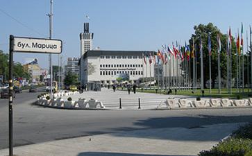 保加利亚普罗夫迪夫国际会展中心Plovdiv conference and exhibition center