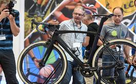 俄罗斯莫斯科自行车展览会