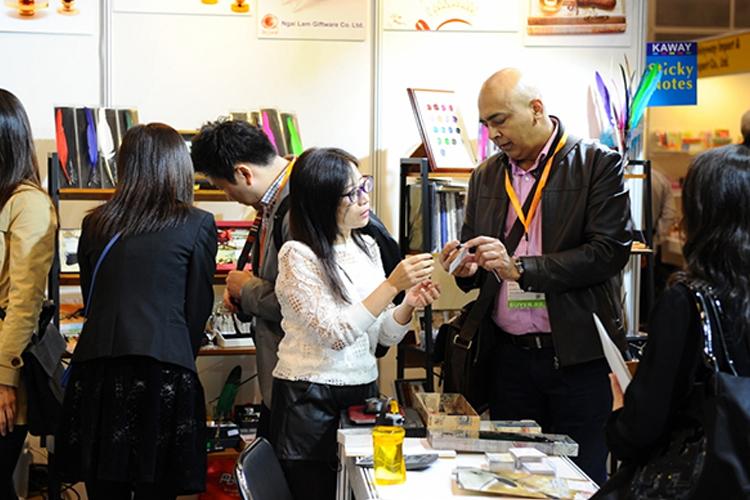 哪些行业可以参加香港贸发局文具展览会?
