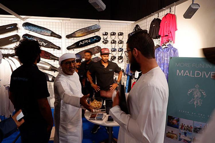 阿联酋迪拜潜水展览会规模有多大?