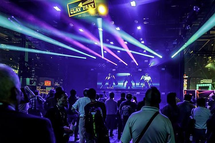 美国阿纳海姆乐器舞台灯光展览会参展效果好不好?