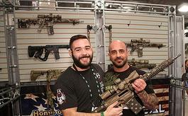美国拉斯维加斯射击狩猎展览会包括哪些展品?