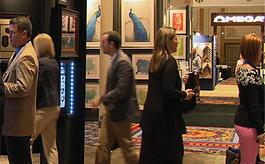 美國拉斯維加斯西海岸畫與框藝術展覽會WCAF
