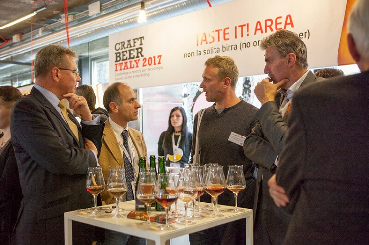 为什么选择意大利精酿啤酒展览会Craft Beer Italy?