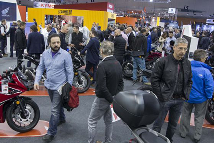 西班牙马德里摩托车及配件展览会包括哪些展品?