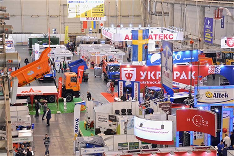 乌克兰基辅铁路轨道展览会规模有多大?
