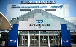 英国伦敦excel会展中心临时医院改造完工