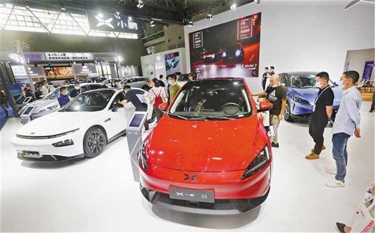 第二十二届重庆汽车展览会开幕