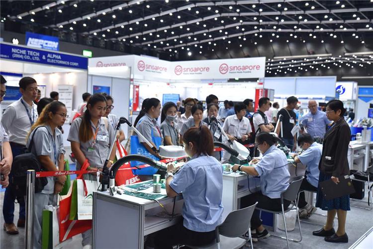 泰国电子生产设备展将与泰国塑料橡胶展同期举办