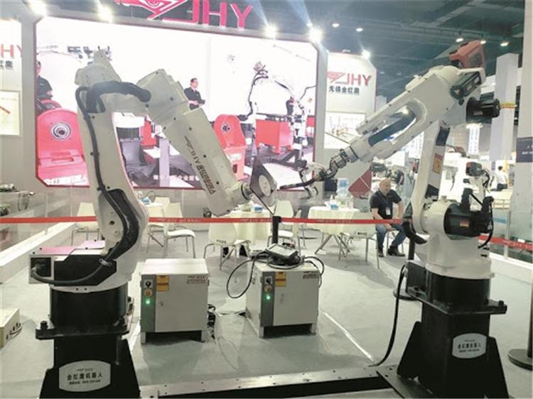 第36屆太湖智能工業裝備展在無錫舉行