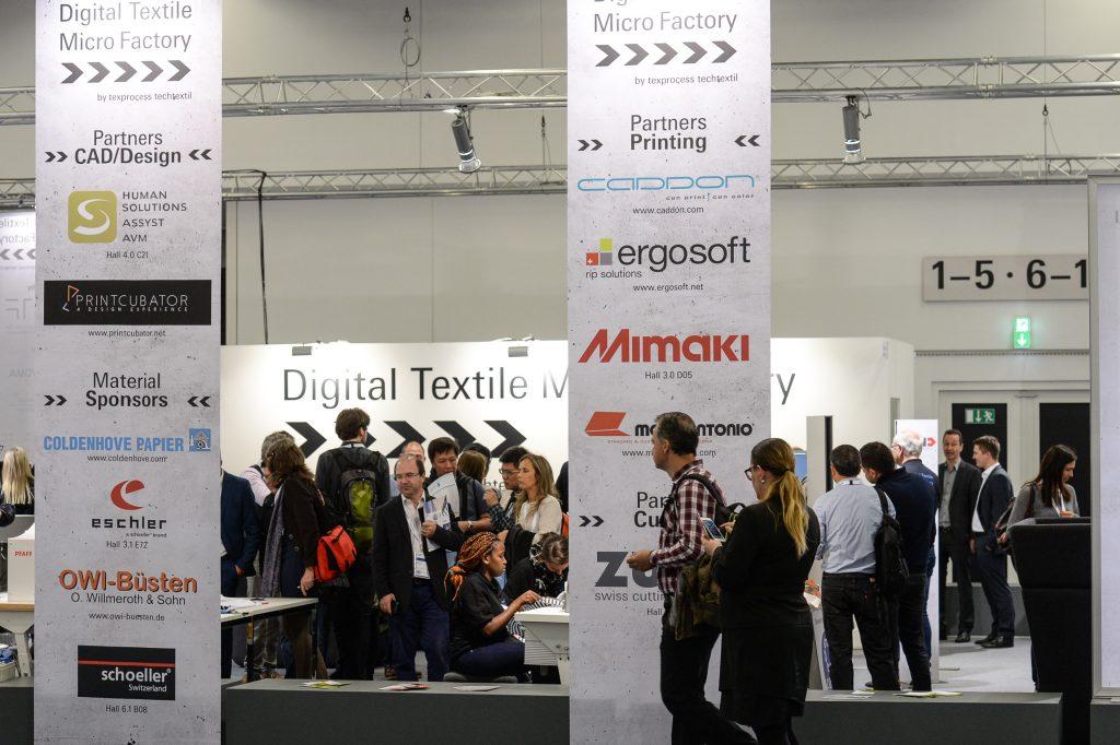 法蘭克福縫制設備展,兩年一屆與非織造及無紡布展同期