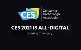 重磅!CES 2021线下展会取消,改为线上活动