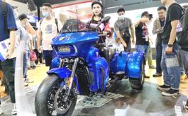 2020年重慶摩托車展展出規模達歷屆之最