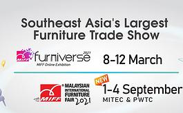 马来西亚家具展MIFF延至2021年9月1-4日