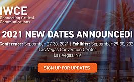 IWCE博览会宣布新日期:2021年9月27日至30日
