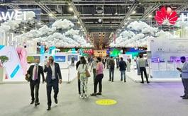 华为亮相GITEX科技周,迪拜酋长与王储点赞!