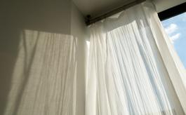如何从窗帘上去除不同的污渍