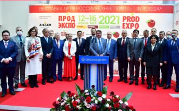 第28届俄罗斯食品展Prodexpo聚集了逾1500参展商