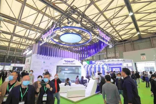 第22届中国环博会在上海新国际博览中心盛大开幕