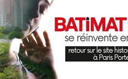 巴黎建筑展BATIMAT將于2022年10月全新回歸