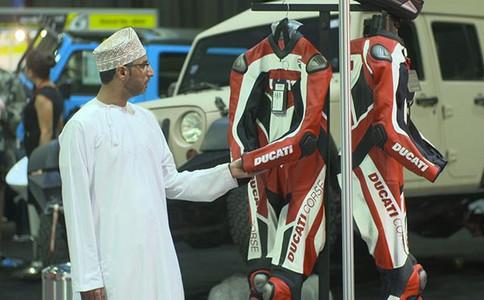 阿联酋迪拜摩�托车展览会Motor Bike Festival