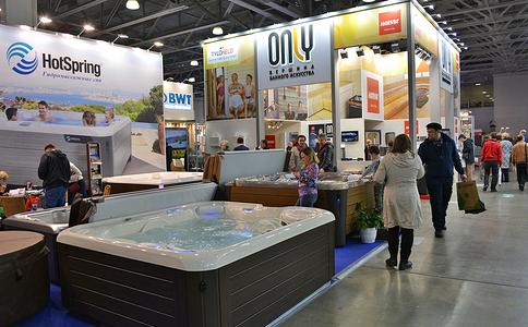 俄罗斯莫斯科泳池桑拿SPA展览会AQUA Salon