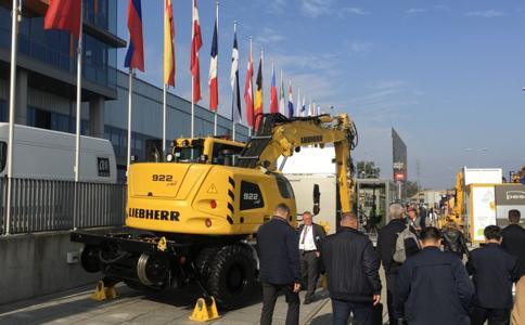 波蘭華沙工程機械展覽會Construction Machinery Exhibiton