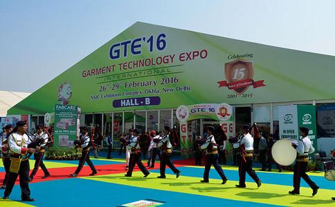印度新德里纺织机械及面辅料展览会GTE
