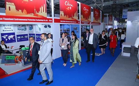 印度新德里環保展覽會IFAT
