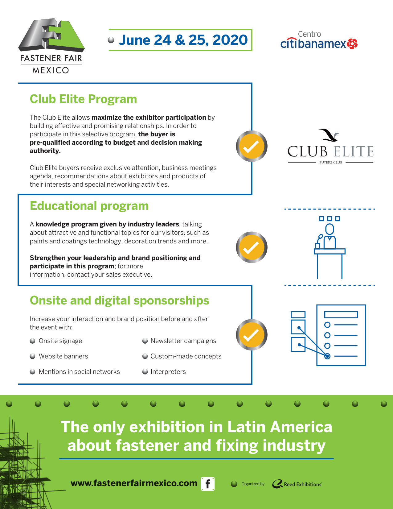 墨西哥緊固件展覽會Fastener Fair Mexico