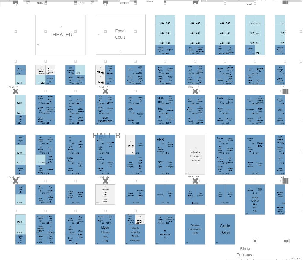 美國克利夫蘭緊固件展覽會Fastner USA