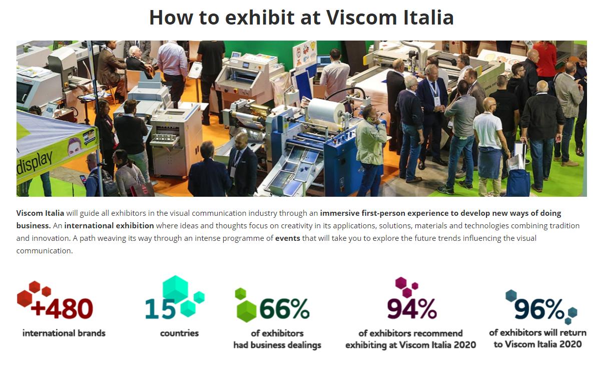 意大利米蘭廣告標識展覽會VISCOM