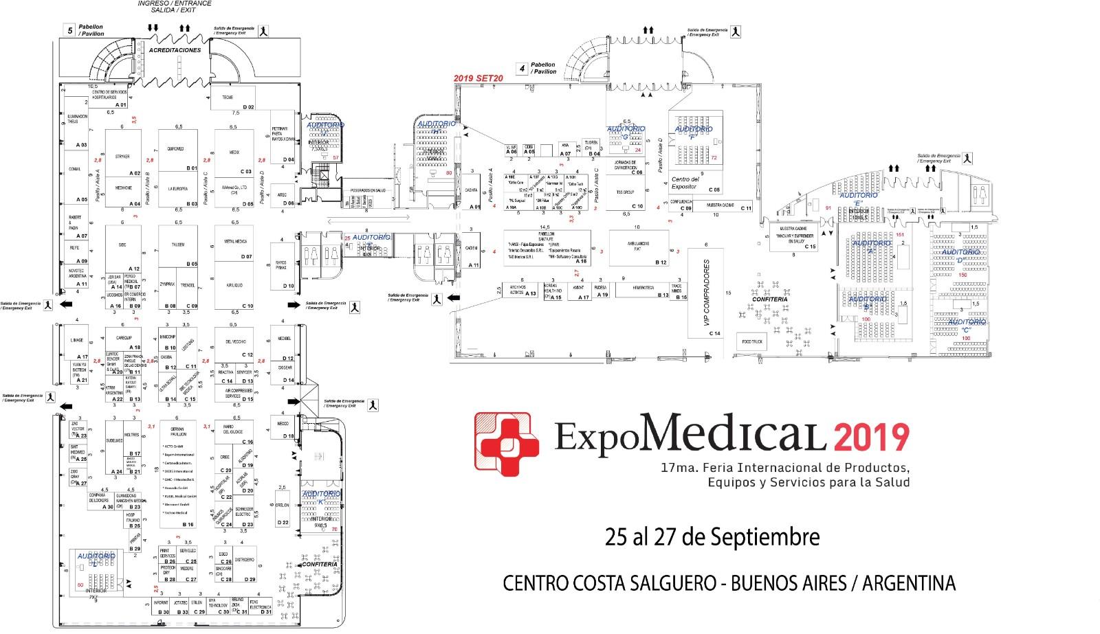 阿根廷布宜諾斯艾利斯醫療用品及康復器材展覽會Expo Medical