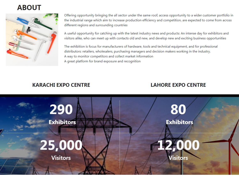 巴基斯坦卡拉奇五金展覽會Hardware Tool