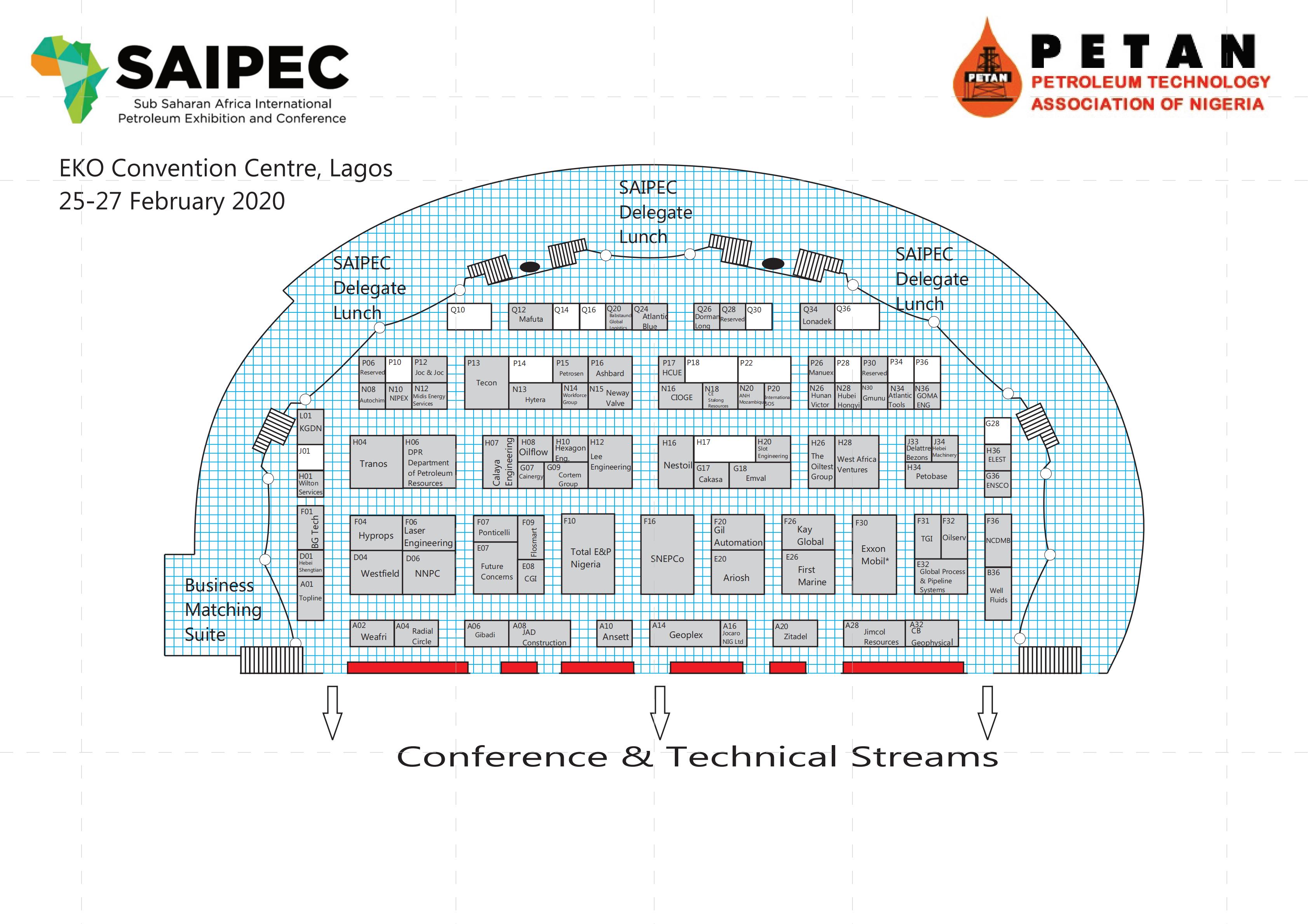 尼日利亞石油裝天然氣展覽會SAIPEC