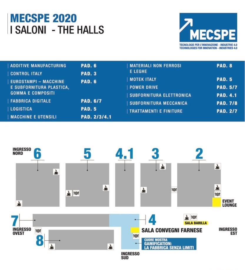 意大利工業展覽會MECSPE
