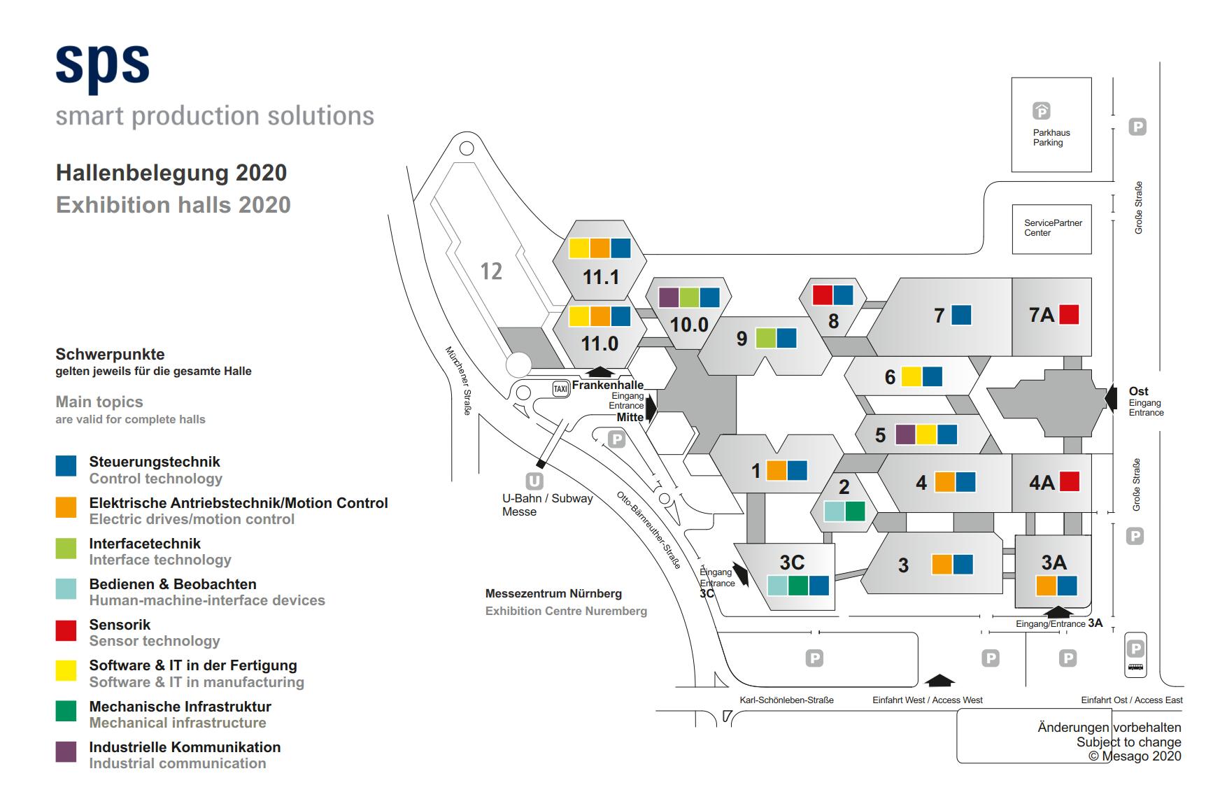 德國紐倫堡工業自動化展覽會SPSIPCDRIVES