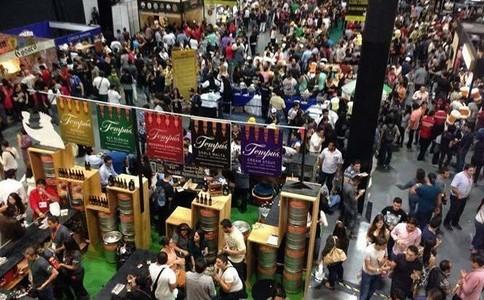墨西哥墨西哥城葡萄酒及烈酒展覽會Cerveza Mexico