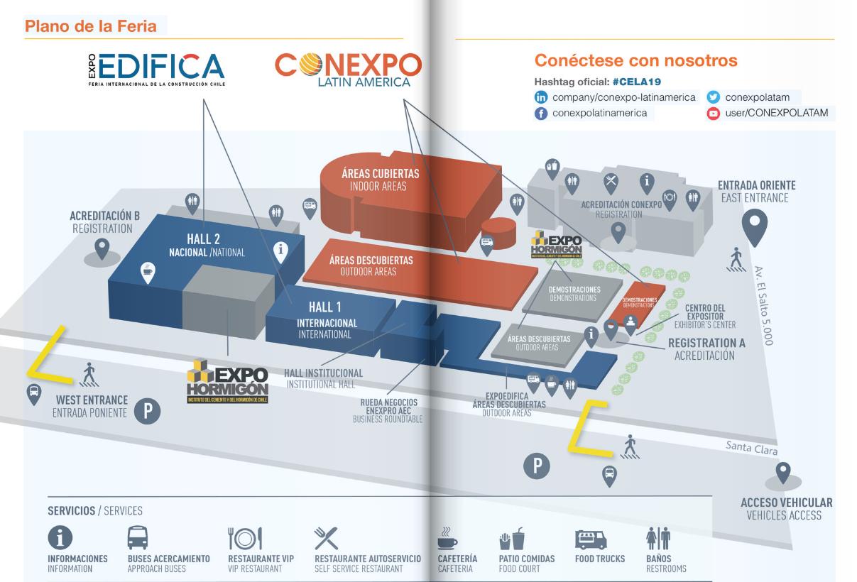 智利圣地亞哥工程機械展覽會Conexpo Latin America