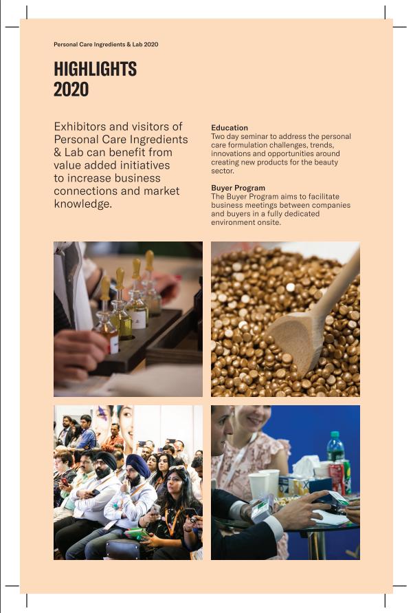 印度孟買美容原料展覽會PCIL