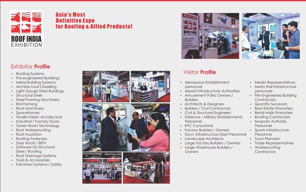 印度班加羅爾屋面材料展覽會Roof India