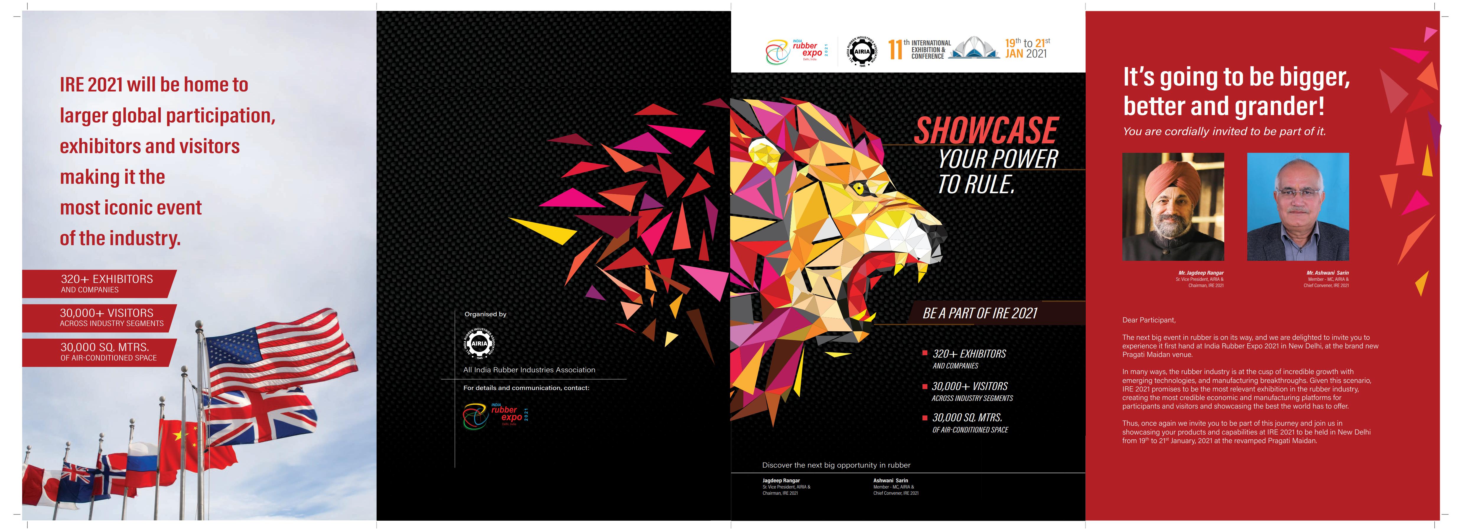 印度新德里橡膠及輪胎展覽會India Rubber Expo