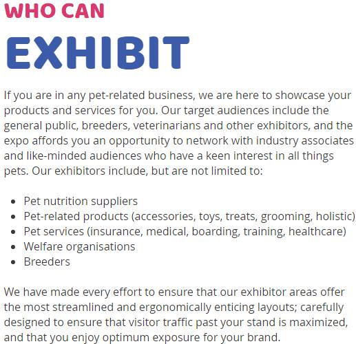 南非約翰內斯堡寵物用品展覽會Pet Expo
