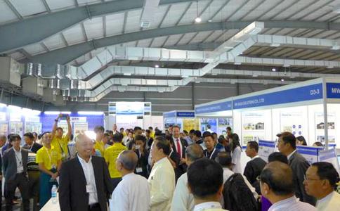 緬甸仰光建筑電氣及礦業展覽會CPM